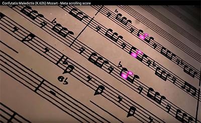 Solfege - Animation - Amadeus - Confutatis