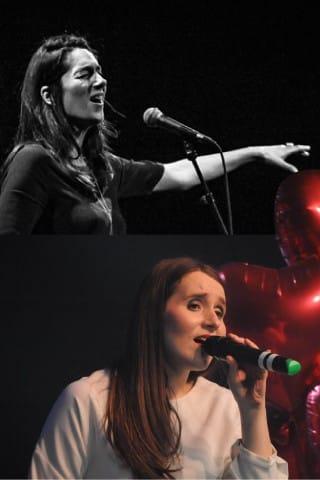 Ariana Vafadari et Clémentine Amado - cours de chant