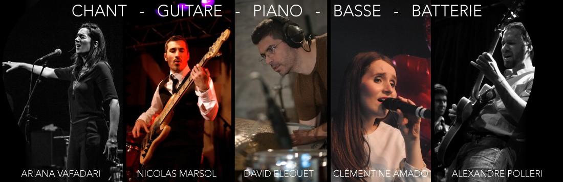 Cours de chant - cours de guitare - cours de piano - cours de basse - cours de batterie