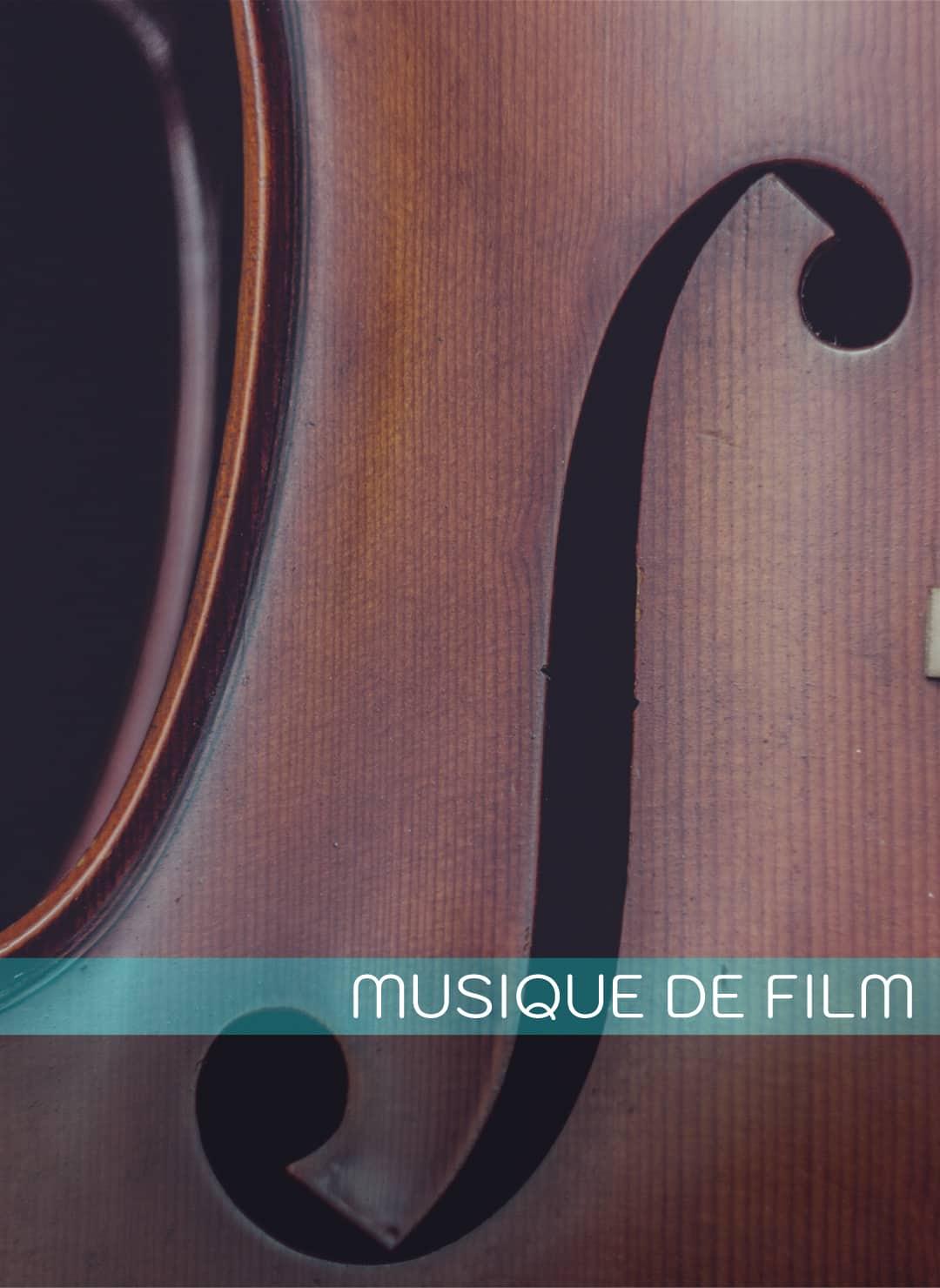 Formation composition musique de film