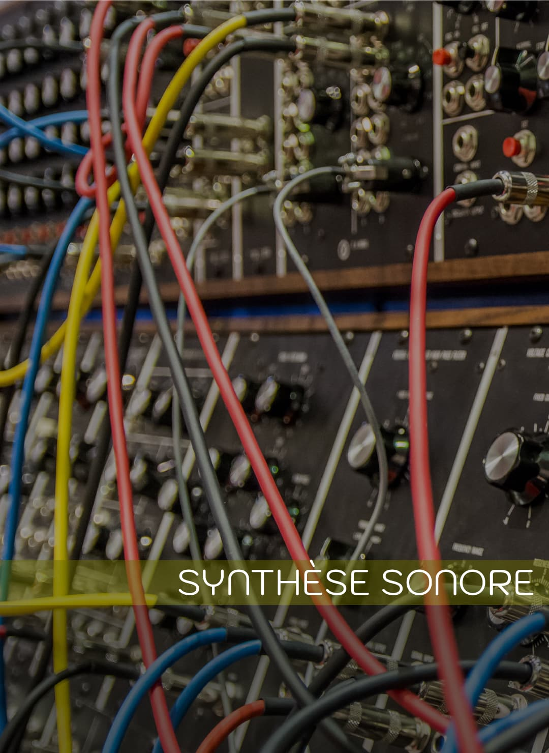 Cours de synthèse sonore